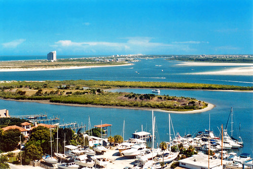 marina river boats florida aerialview 1999 atlanticocean condominiums waterway newsmyrnabeach intracoastalwaterway ponceinlet poncedeleoninlet