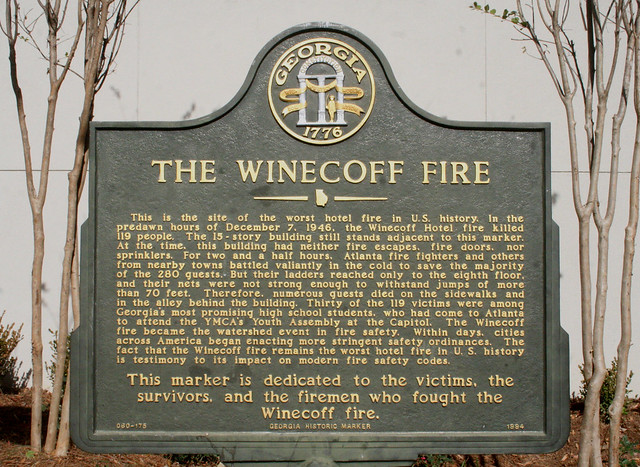 Photo:The Winecoff Hotel (and fire) By dbking