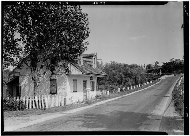 Tollhouse at the Jug Bridge, Frederick Maryland