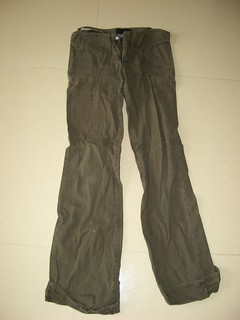 PEPPERPLUS Army Green Long Pants S ~ $8
