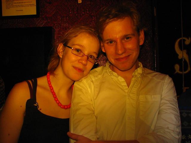 Una pareja de Erasmus enamorados, sin cuernos de por medio