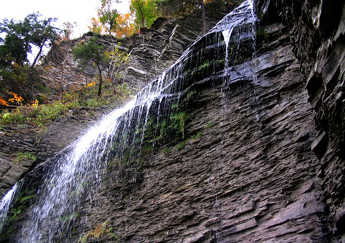 Finger Lakes waterfall