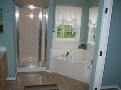 Master Bath Sep Shower and Toilet