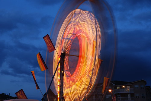Carnival Light Trails 4