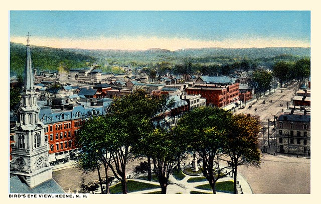 "Aerial & ""Overlook"" photos of Keene New Hampshire"