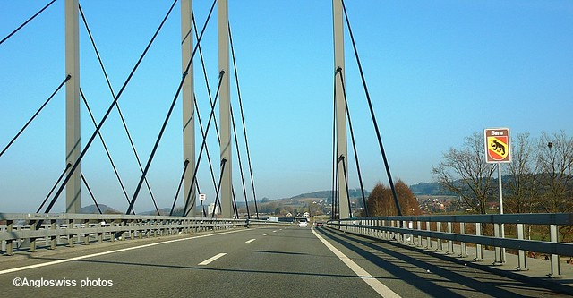Motorway Biel-Solothurn at Grenchen