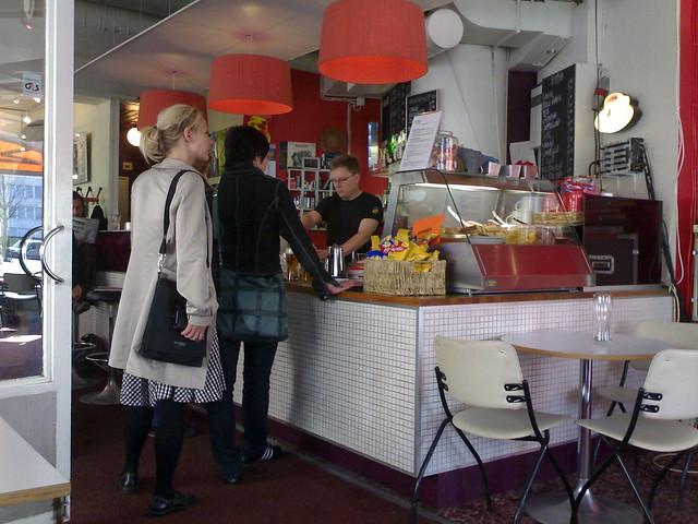 A restaurant in Kallio