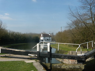 Lock and cottage
