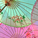 Parasols in pastel by Backdoor Buttercups