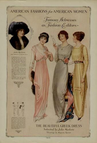 1913 fashion plate