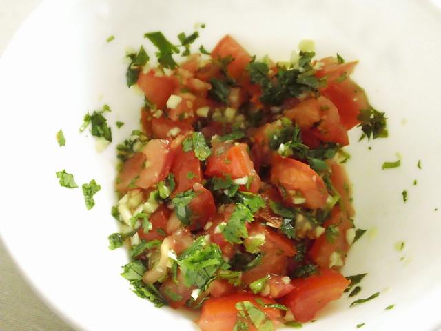 Simply Good Eating » Ground Turkey with Potato and Peas
