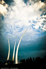 United States Air Force Memorial at Dusk - III