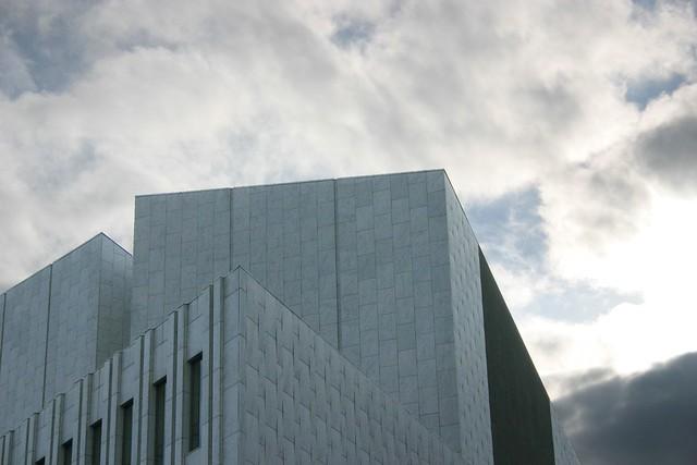 Fachada del Finlandia Hall