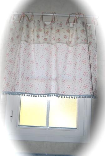 Cortinas de ba o romanticas - Cortina para ventana de bano ...
