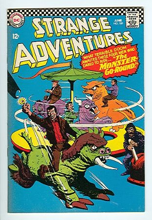 The Monster-Go-Round Strange Adventures