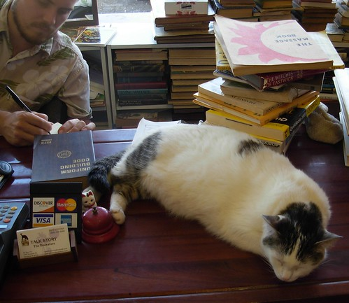 Ed and Cat - Talk Story Bookstore