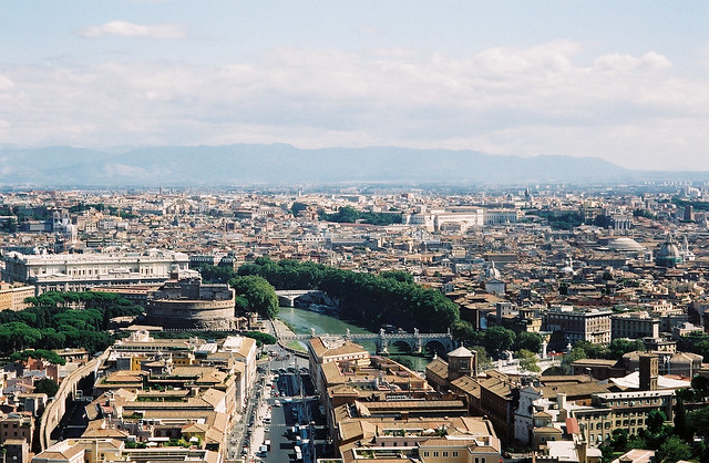 View From St. Peter's Basilica