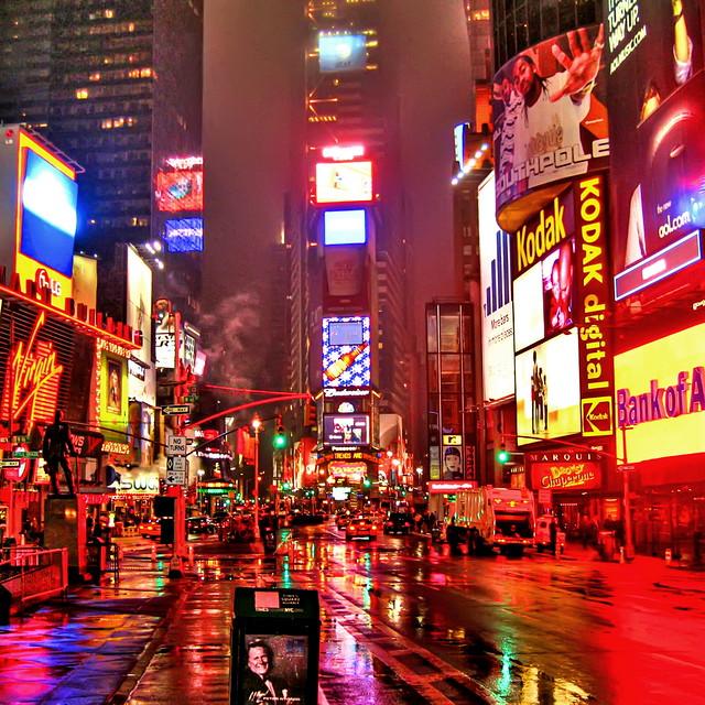 Wet New York