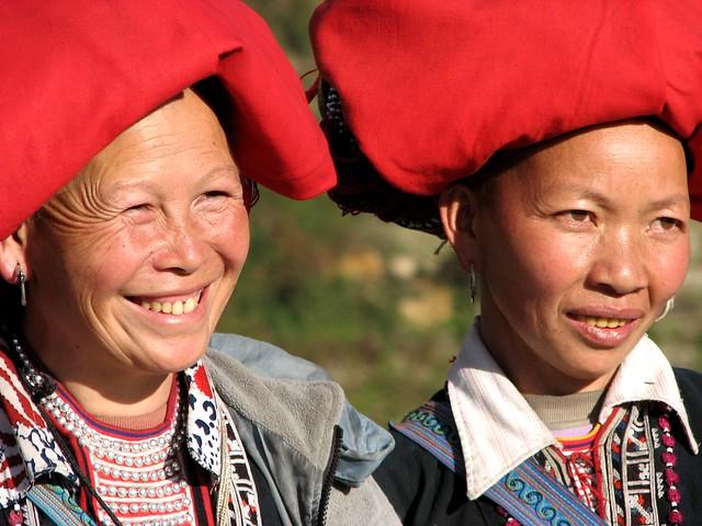 Femmes Hmong, Ta Van - Vietnam