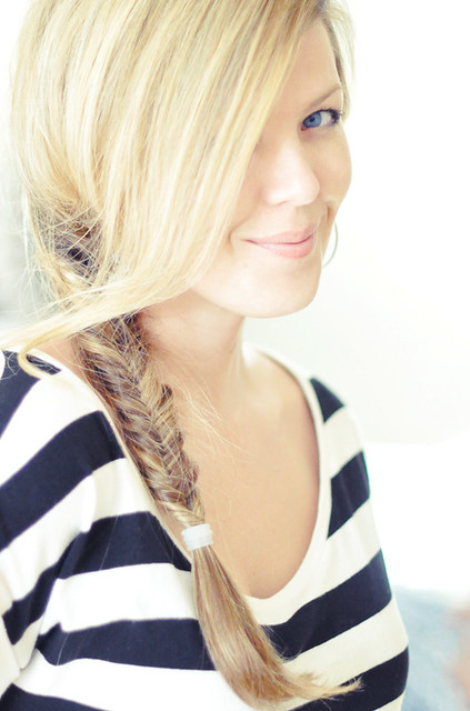 Hair+Side fishtail braid hair tutorial video | Flickr ...