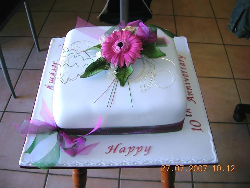 Anniversary Celebration Cake