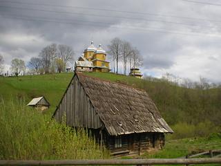 Village in Karpaty