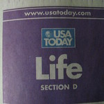 USA Today Life section that has the piece about my research