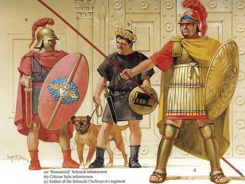Seleucid Greek warriors