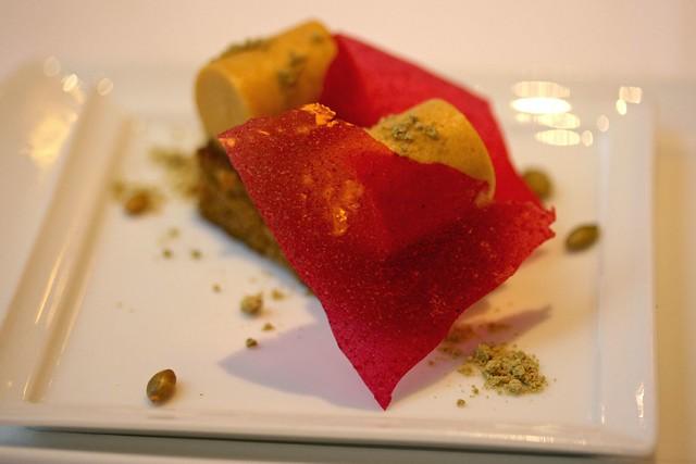 Spiced Pumpkin Mousse, Gingerbread Sponge, Crisp Cranberry   Flickr ...