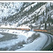 California Zephyrs Passing in the Canyon - 1968 by sjb4photos