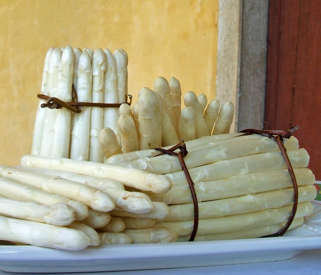 L'asparago bianco di Bassano