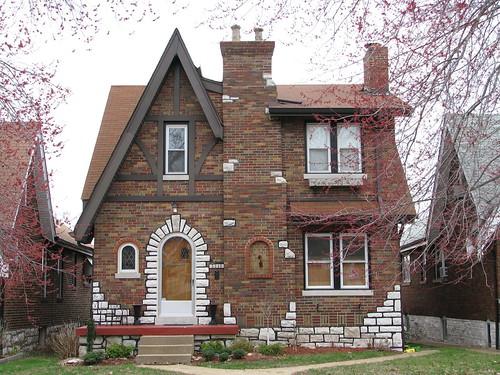 Dotage st louis tudor revival historic district for English tudor style house