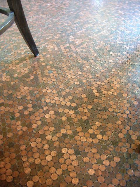 Penny floor flickr photo sharing for Floor of pennies