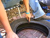 CUTTING THE TYRE