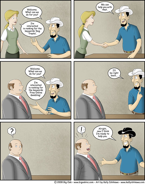 Blackhat SEO comic