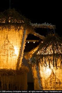 vesak lanterns at parliament grounds