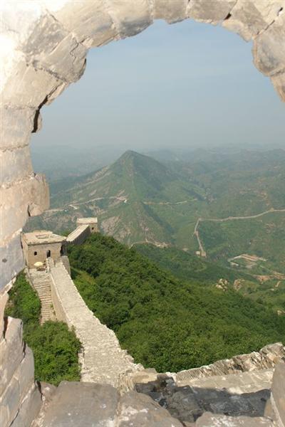 Imagen desde una Torre Simatai, en las alturas de la Gran Muralla China - 2507896099 6b388f3297 o - Simatai, en las alturas de la Gran Muralla China