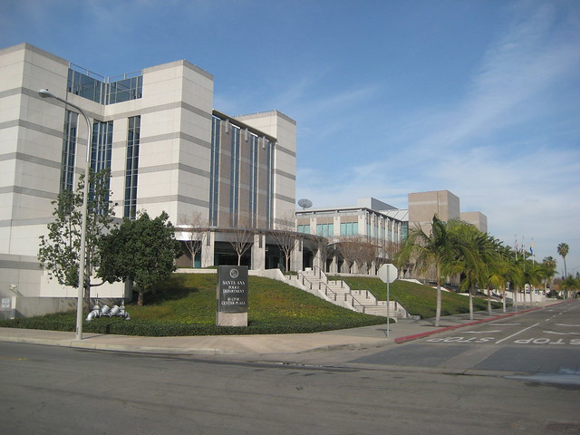 Santa ana police department complex in orange county - Maison d architecte orange county californie ...