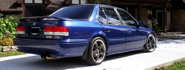 "New Honda Civic >> 1993 JDM Honda Accord CB7 ""Wraith"" | NEW All 4 OEM MUD ..."