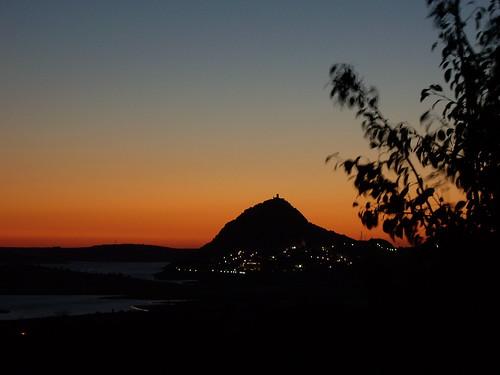 sunset sol atardecer pantano puestadesol crepusculo puesta ocaso castillo extremadura alange jesuloca castillodehixnalhanash castillodelaculebra