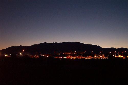 light shadow newmexico dawn albequerque