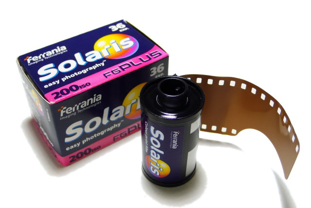 Ferrania Solaris 200 FG Plus