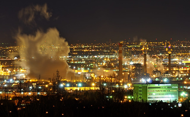 North Denver Night Steam