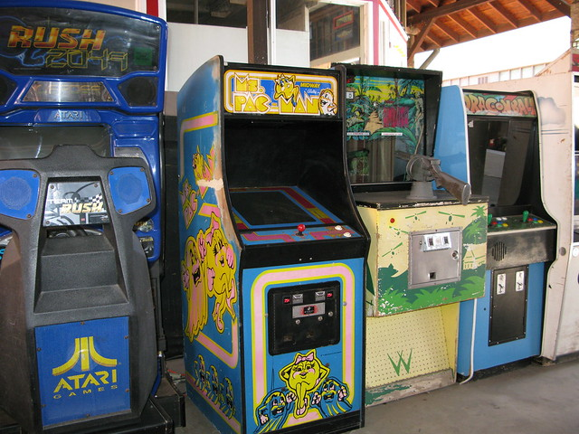 Food And Arcade Places Near Me