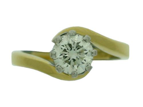 diamond ring (top down view)