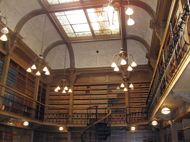 Library at Osgoode Hall by https://www.flickr.com/photos/padraics_travels/