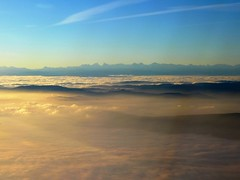 Fog over the Swiss Plateau