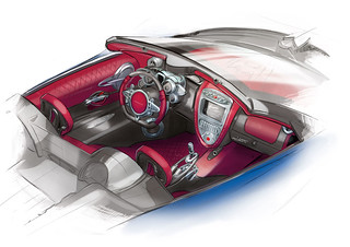Huayra_Roadster_sketch_interior (1)