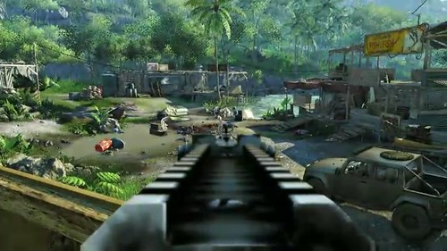Far Cry 3: Level Editor Details Revealed - Tunneling Tool, Hundreads Of Terrain Types & More