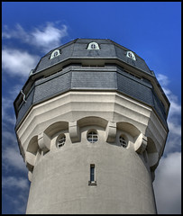 Water tower/Wasserturm (HDR)
